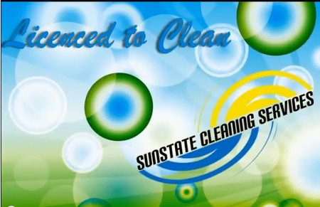 Sunstate Cleaning Logo