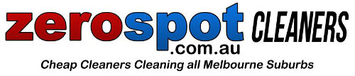 zero spot cleaners melbourne logo