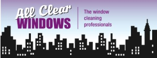 all clear windows gold coast logo