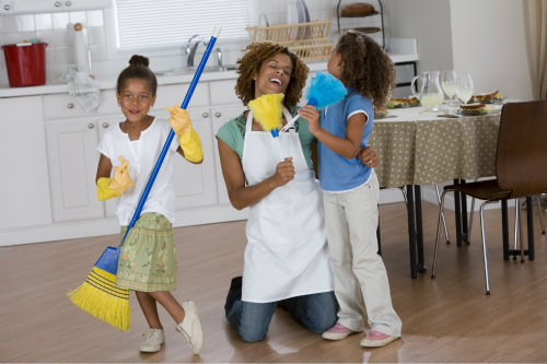 children cleaning - photo #11