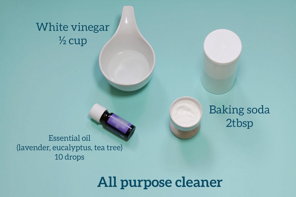 All purpose cleaning recipe