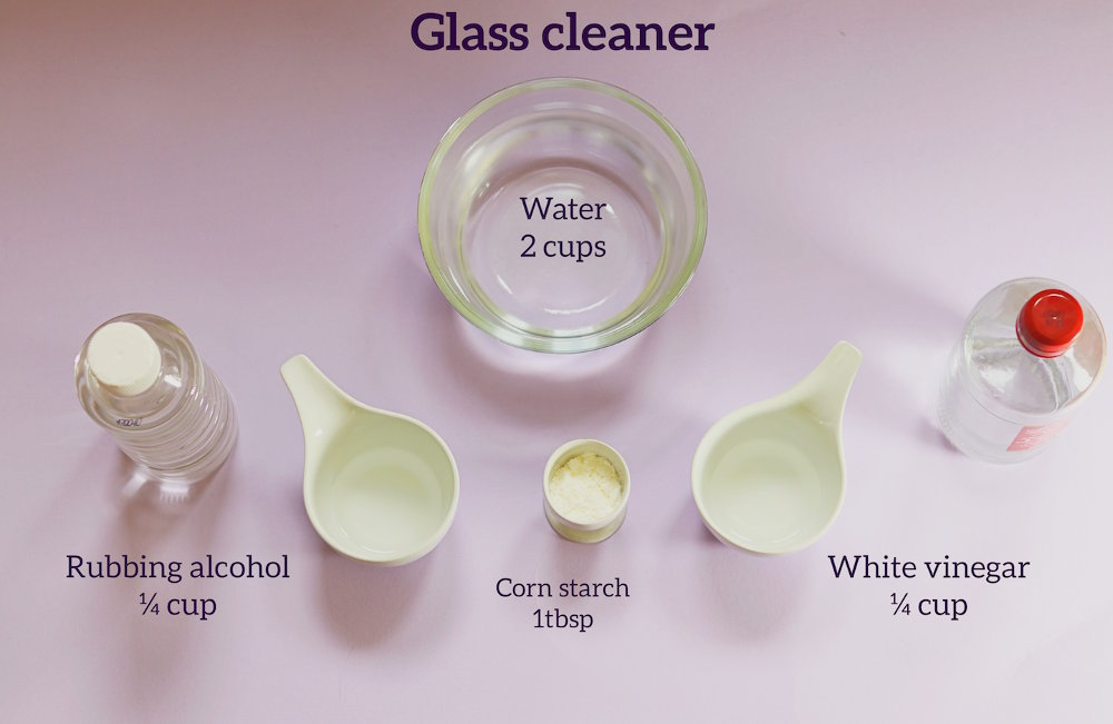 glass cleaning recipe